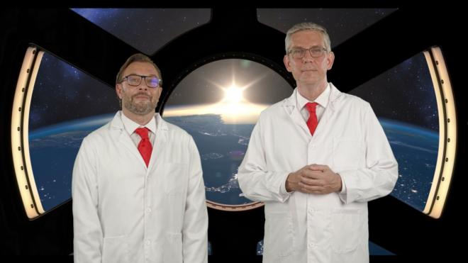 Kurzer Reisebericht von Boris von Brevern und Guido Lehrke aus der Zukunft: Episode 2 von 4