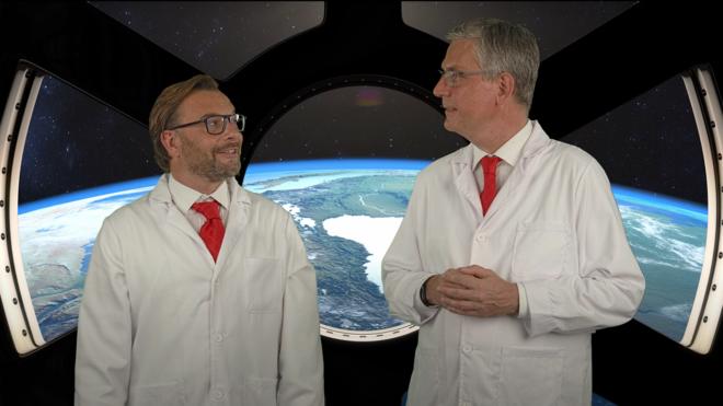 Kurzer Reisebericht von Boris von Brevern und Guido Lehrke aus der Zukunft: Episode 1 von 4